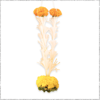 Lily and Marigold Flower Online