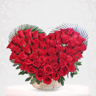 Red Rose Bouquet For Valentine's , Wedding, anniversary Gift